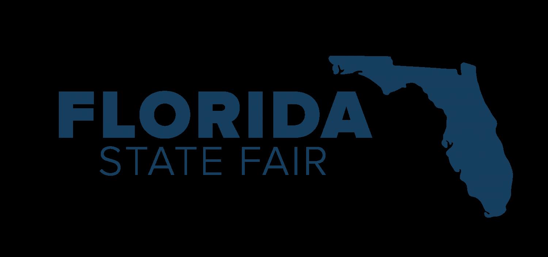 Florida State Fairgrounds Logo Navy Blue